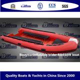 De Opblaasbare Bredere Boot Rib550W van Bestyear