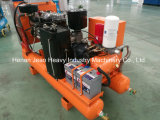 Gewinnenverwendeter Luftverdichter des Schrauben-Dieselluftverdichter-175cfm