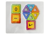 Fomous Basts Clear 3D Kids Magnetic Toys Sandard Set 45 Parts