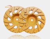Rodas de moedura segmentadas T do copo