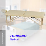 Table de massage en bois de pliage portable (thr-WT001)