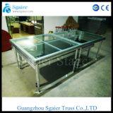 Combinated Toughened стеклянный этап, этап органического стекла, складывая этап