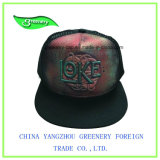 シンプルな設計の刺繍の重いブラシの綿のスポーツの帽子