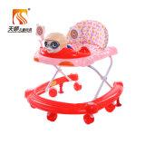 Prix bon marché de marcheur de bébé d'usine de couleur rouge