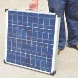 портативная пишущая машинка панели солнечных батарей 12V 100W складывая для располагаться лагерем