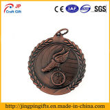 Premio de fútbol en 3D las medallas de metal