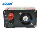 Suoer DC 72V AC 220 В 1000W частота инвертора с питанием от автомобильного (SUB-1000H)