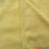 Microfiber brillant le tissu de nettoyage de tricotage de trame