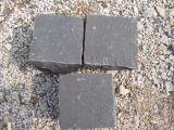 Самые дешевые черные кубики кубиков базальта, черных и серых базальта в карьере Китая