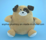 Banco macio do cão de brinquedo do luxuoso do banco de moeda