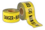 de kleurrijke Fluorescente Opspoorbare Band van de Voorzichtigheid/van de Waarschuwing van de Bescherming van het Gevaar