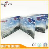 La ISO de ISO14443A clasifica la tarjeta del documento comercial de RFID para el boleto del parque