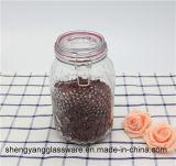 Бутылка горячего опарника хранения зерна надувательства стеклянная с Kitchenware крышки запечатывания