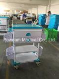 Chariot médical à soins d'ABS d'hôpital