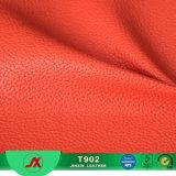 Cuero material del Faux de la tela del cuero artificial del PVC del modelo de Lichee