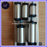 Pistões de alumínio ajustável de ação dupla Longo Curso do Cilindro de Ar Pneumática