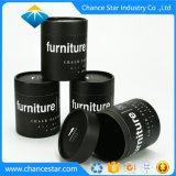 Tiza paquete personalizado de pintura negra de tubo de cartón de papel Kraft