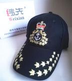 O chapéu do exército, alta qualidade bordou o Beanie do Knit, ostenta o tampão
