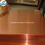 Hoja de cobre amarillo de H60 H62 H65 H68 1m m C2720 C22800/placa de cobre amarillo para la decoración