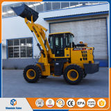 2ton Mini Pay Loaders Small Wheel Loader with Shovel Bucket
