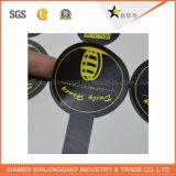 El papel auto-adhesivo impreso redondo modifica la etiqueta engomada de la impresión para requisitos particulares de la escritura de la etiqueta de Matt