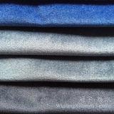 La lucentezza ha rifinito il tessuto molle eccellente del velluto per i coperchi del sofà
