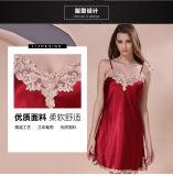 """Pijamas de seda quentes da seda das mulheres da roupa de noite da roupa interior """"sexy"""""""