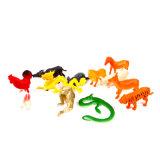 Vário brinquedo animal plástico amigável feito sob encomenda de Eco