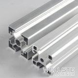 Slot T extrudido anodizado prateado 45*45 Perfil de alumínio para sistema Convery