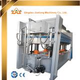 Máquina de trabalho de madeira da imprensa quente para o folheado