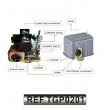 Wasser-Pumpen-Druckschalter-Quadrat D für Wasser-Pumpe (TGP0201)