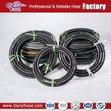 SAE100 R9 de alambre de acero de alta presión hidráulica flexible reforzado de la manguera de goma