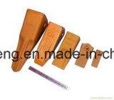 Il pezzo fuso dell'acciaio legato ha forgiato il punto dei denti dell'adattatore della benna