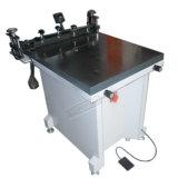 수동 유리제 편평한 진공 실크 스크린 인쇄 기계 (TM 6080s)