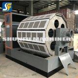 Pequeña máquina automática de la fabricación de la bandeja del huevo de codornices del papel descascarillado que hace la bandeja del papel