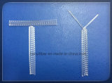 Fibra bruta de polipropileno de fibras de reforço concreto melhor do que fibras de aço
