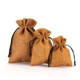 個人化された小さいジュートのギフトのドローストリング袋卸しで安く(CJB1103)