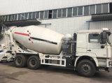 Shacman agitador de 6X4 Carretilla de 8 m3 de concreto Camión Mezclador de Tambor