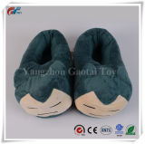 Pokemon Snorlax Peluche Peluche zapatilla cubierta de tacón Zapatos de Adultos de la decoración del hogar
