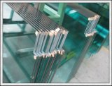 El vidrio Tempered de cristal endurecido de la gafa de seguridad con los orificios/pulió los bordes/insignia