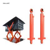 二重イヤリングのフォークリフト工学機械装置の産業水圧シリンダ