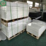 Feuille d'ingénierie de produits en plastique PE HDPE Polyéthylène UHMW pure de soutien de la plaque d'aile
