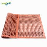 De antislip Mat van het Matwerk van de Drainage van de Matten van de Keuken Rubber Holle Rubber