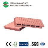 Revêtement composé en plastique en bois extérieur de mur de panneau de mur de WPC (m2)