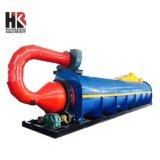 Virutas de madera/astillas de madera o aserrín máquina secadora rotativa de aire caliente