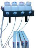 びんのCarridgeインク管のコネクターが付いているバルクシステム