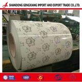 PPGI bobinas de acero/impresión de bobina de flores para la construcción