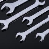 Ключ металла открытого конца двойника высокого качества ручного резца гаечный