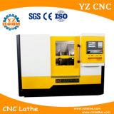 Tck42 Fanuc 시스템 축융기 및 기울기 침대 CNC 도는 선반