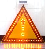 Van de LEIDENE van de Driehoek van het aluminium Symbolen van de Verkeersteken de Weerspiegelende Waarschuwing van de Douane